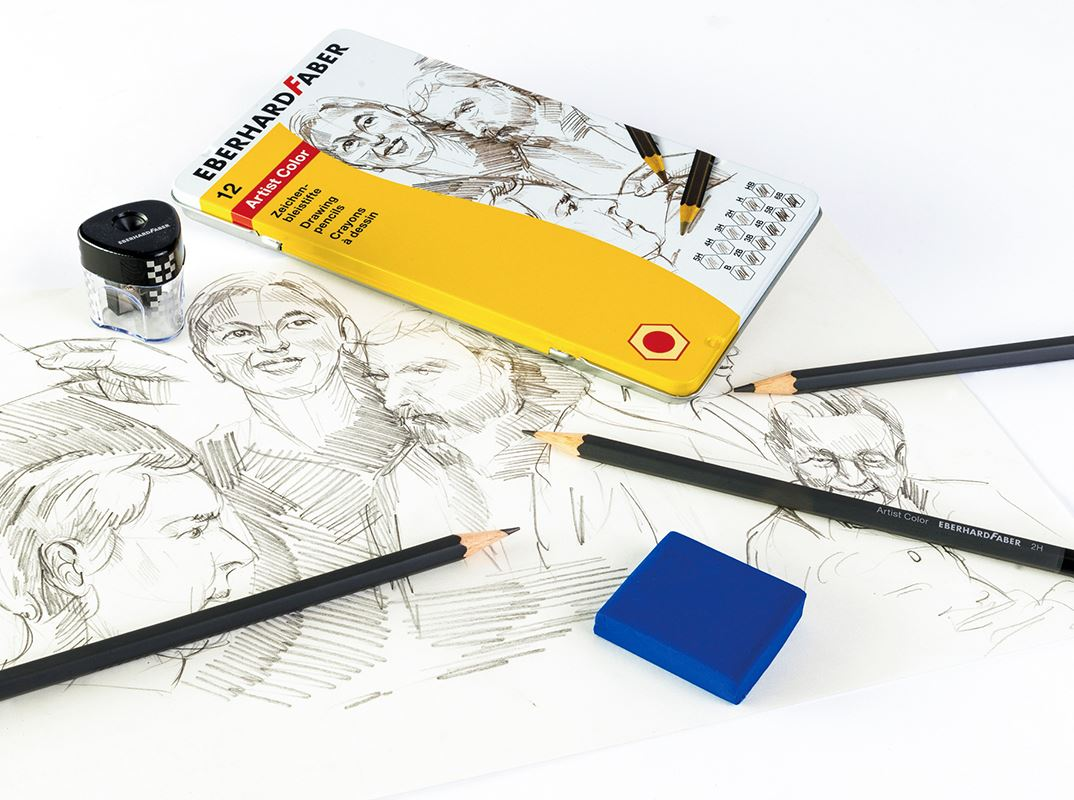 Writing and drawing with graphite pencils