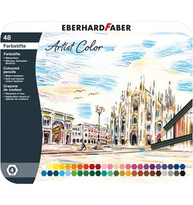 Eberhard-Faber - Coloured pencil Artist Color hexagonal tin of 48