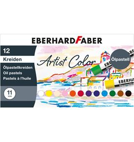 Eberhard-Faber - Artist Color oil pastel crayons cardboard box of 12