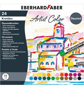Eberhard-Faber - Artist Color oil pastel crayons cardboard box of 24