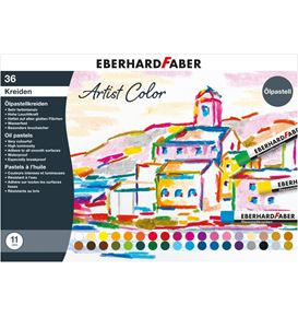 Eberhard-Faber - Artist Color oil pastel crayons cardboard box of 36