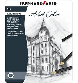 Eberhard-Faber - Artist Color drawing pencil set of 16