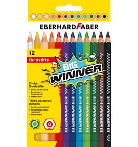 Eberhard-Faber - Coloured pencil BIG Winner box of 12