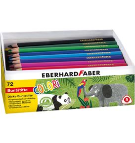 Eberhard-Faber - Colour pencils Colori Jumbo quiver of 72