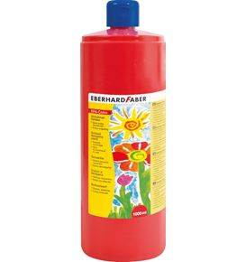 Eberhard-Faber - EFA Color Tempera 1.000 ml bottle, pale geranium