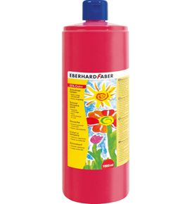 Eberhard-Faber - EFA Color Tempera 1.000 ml bottle, permanent carmin