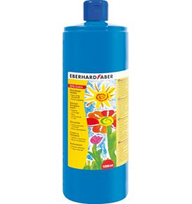 Eberhard-Faber - EFAColor Tempera 1000ml phthalo blue
