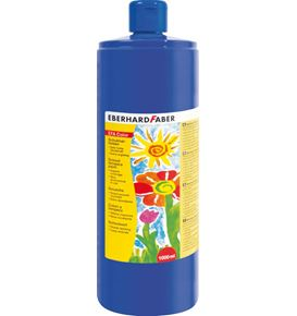 Eberhard-Faber - EFAColor Tempera 1000ml cobalt blue