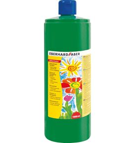 Eberhard-Faber - EFA Color Tempera 1.000 ml bottle, permanent green