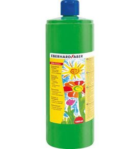 Eberhard-Faber - EFA Color Tempera 1.000 ml bottle, leaf green