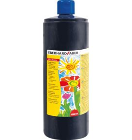 Eberhard-Faber - EFA Color Tempera 1.000 ml bottle, black