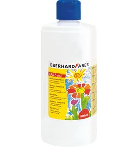 Eberhard-Faber - EFA Color Tempera 500 ml bottle, white