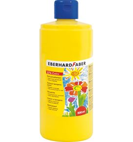Eberhard-Faber - EFA Color Tempera 500 ml bottle, cadmium yellow