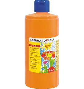 Eberhard-Faber - EFA Color Tempera 500 ml bottle, cadmium orange
