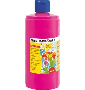 Eberhard-Faber - EFA Color Tempera 500 ml bottle, pink carmine