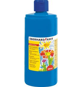 Eberhard-Faber - EFA Color Tempera 500 ml bottle, phthalo blue