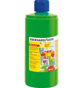 Eberhard-Faber - EFA Color Tempera 500 ml bottle, leaf green