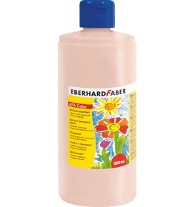 Eberhard-Faber - EFA Color Tempera 500 ml bottle, beige red