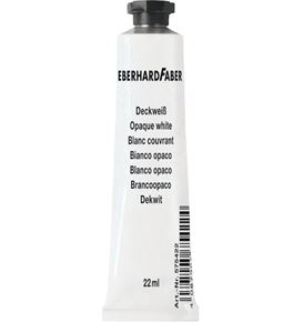 Eberhard-Faber - EFA Color opaque white tube 22 ml