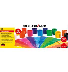 Eberhard-Faber - School tempera paint 13 set à 18ml