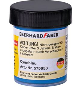 Eberhard-Faber - Opaque colour EFA Color cyan blue 18 ml