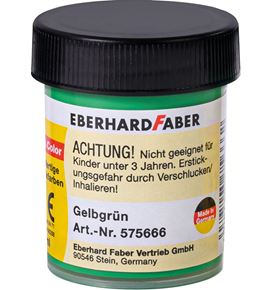 Eberhard-Faber - Opaque colour yellow green 18 ml