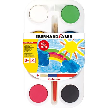 Eberhard-Faber - Paintbox of 8 colour tablets 44mm