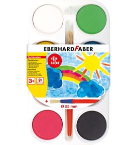 Eberhard-Faber - EFA Color paint box of 8 colour tablets 55mm