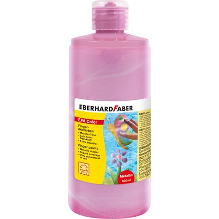 Eberhard-Faber - Finger paints 500ml pearl-rose