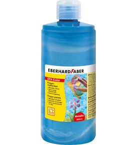 Eberhard-Faber - Finger paints 500ml pearl-blue
