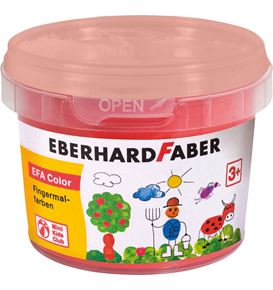 Eberhard-Faber - EFA Color Finger paints 100 ml, pale geranium lake
