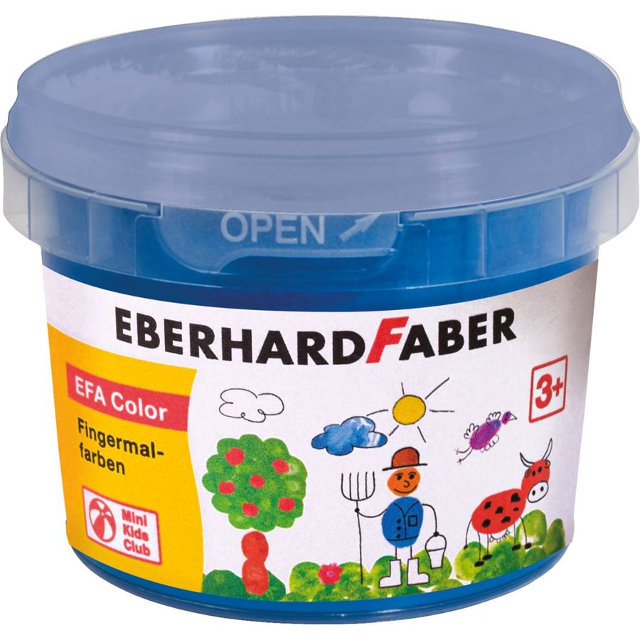 Eberhard-Faber - EFAColor Finger Paints 100ml phthalo blue