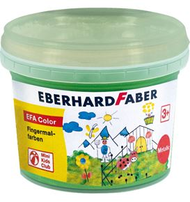 Eberhard-Faber - Finger paints 100ml pearl green