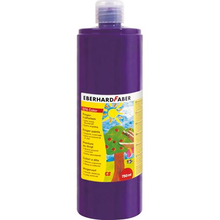 Eberhard-Faber - EFAColor Finger Paints 750ml purple violet