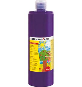 Eberhard-Faber - EFA Color Finger paints 750 ml, purple violet