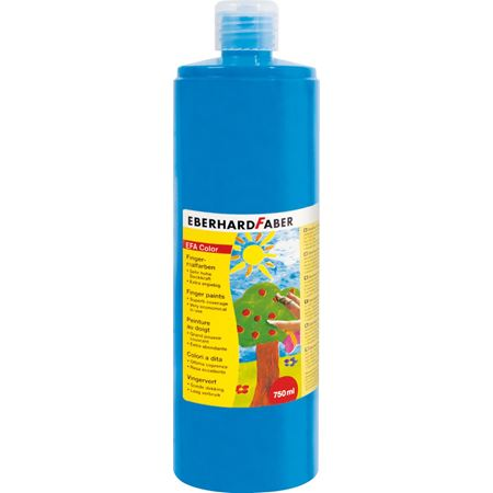 Eberhard-Faber - EFAColor Finger Paints 750ml phthalo blue