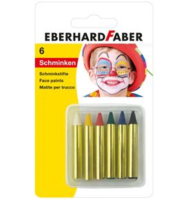 Eberhard-Faber - 6 Face-painting pencils short