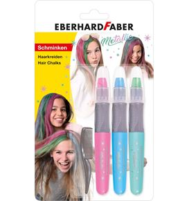 Eberhard-Faber - Crayon for haircolor set Metallic