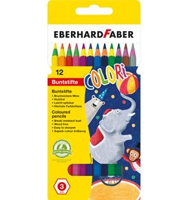 Eberhard-Faber - Colori coloured pencil cardboard box of 12