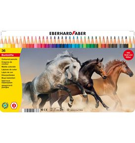 Eberhard-Faber - Coloured pencil hexagonal tin of 36