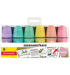 Eberhard-Faber - Mini Highlighter pastel box of 6