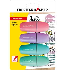 Eberhard-Faber - Mini Highlighter pastel box of 4