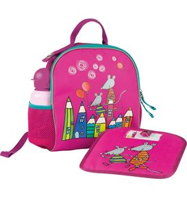 Eberhard-Faber - Backpack Mini Kids Club berry