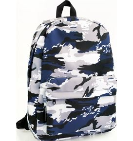 Eberhard-Faber - Backpack Camouflage navy