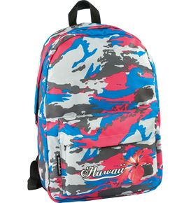 Eberhard-Faber - Camouflage backpack, Hawaii