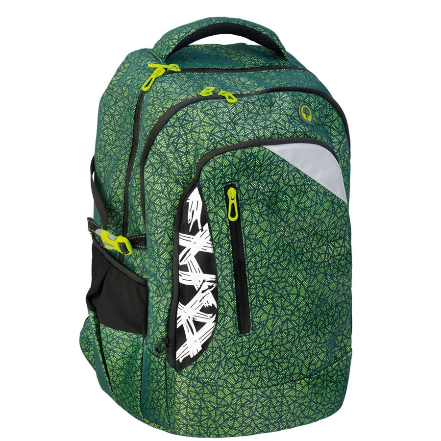 Eberhard-Faber - X-Style pro backpack, green/blue