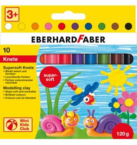 Eberhard-Faber - Mini Kids Club supersoft clay 10 pcs
