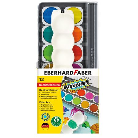 Eberhard-Faber - Winner paint box 12x