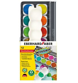 Eberhard-Faber - Winner paint box, 12 colours