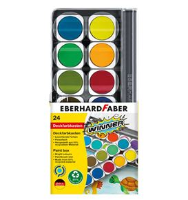Eberhard-Faber - Winner paint box, 24 colours